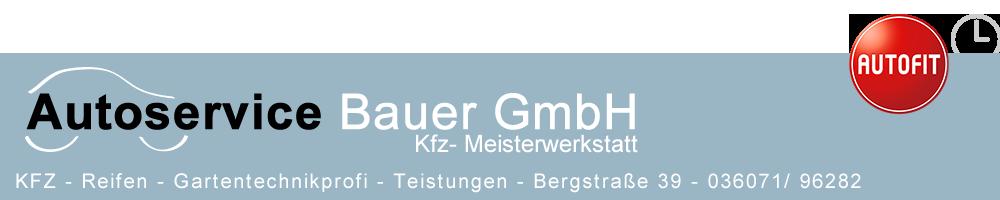 Logo von Autoservice Bauer GmbH